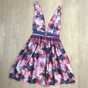 Free People Daydream Floral Butterfly Print Dress
